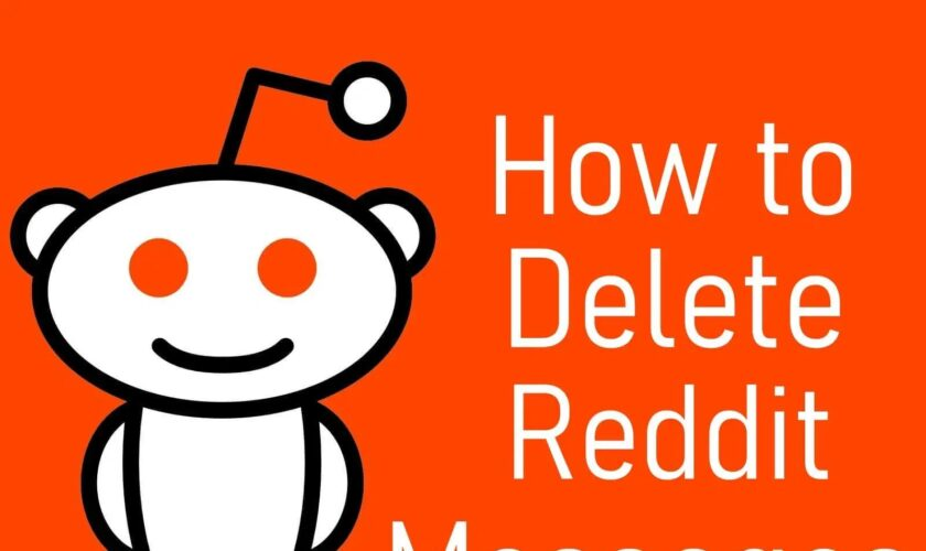 Delete Reddit Messages from your Inbox