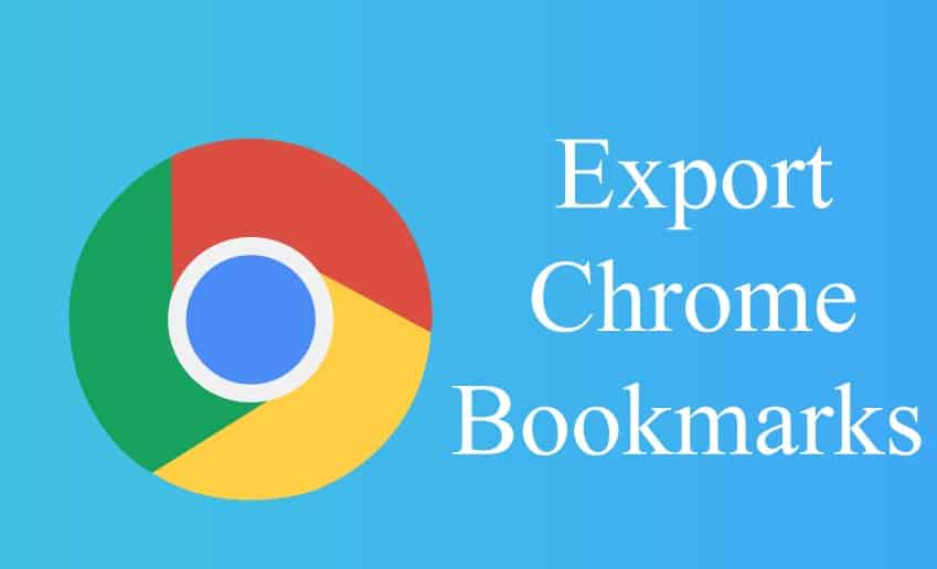 Export Your Bookmarks in Chrome