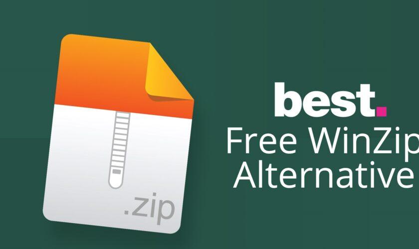 Best Free WinZip Alternatives to Unzip Files & Folders