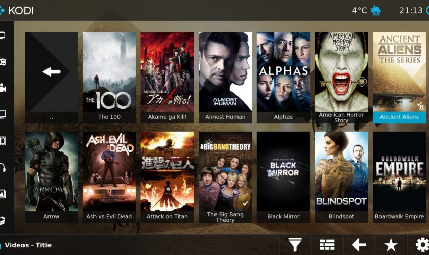 How to Add Movies to a Kodi Library
