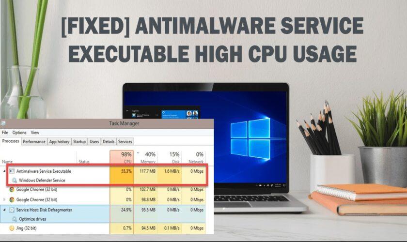 FIX the Antimalware Service Executable High CPU Usage (MsMpEng)