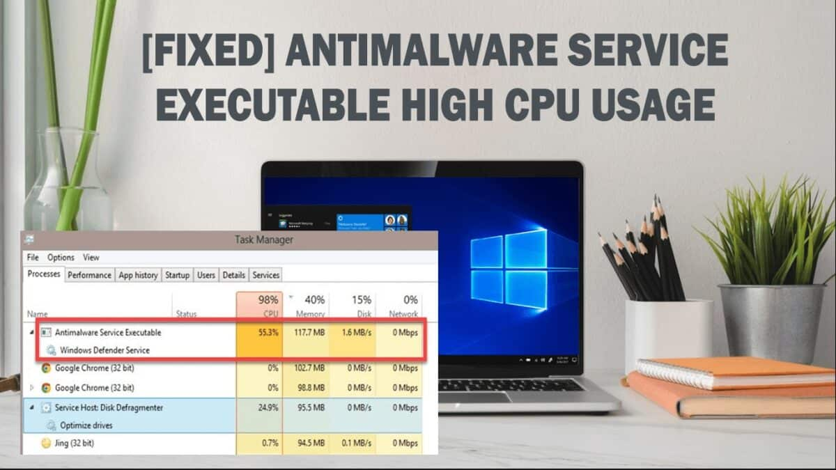 FIX the Antimalware Service Executable High CPU Usage (MsMpEng)