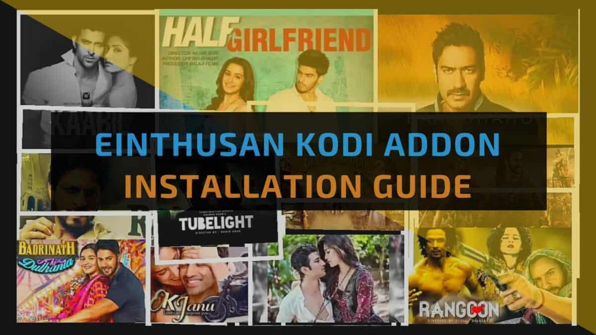 How to Install The Einthusan Kodi Addon