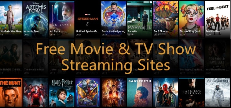 Best Free Movie & TV Show Streaming Sites in 2020
