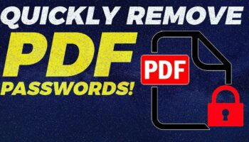 How To Remove Password From PDF Files [Recovery & Reset]