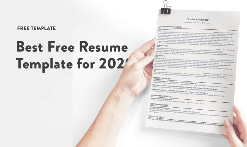 Best 16 free resume templates