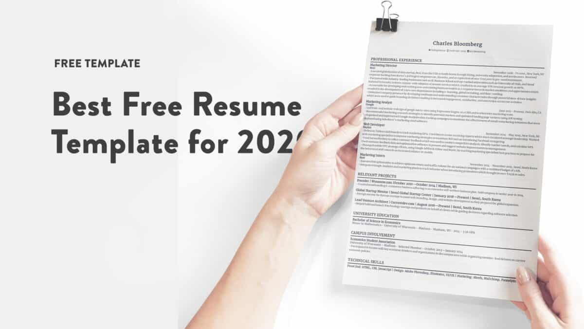 Best 16 free resume templates
