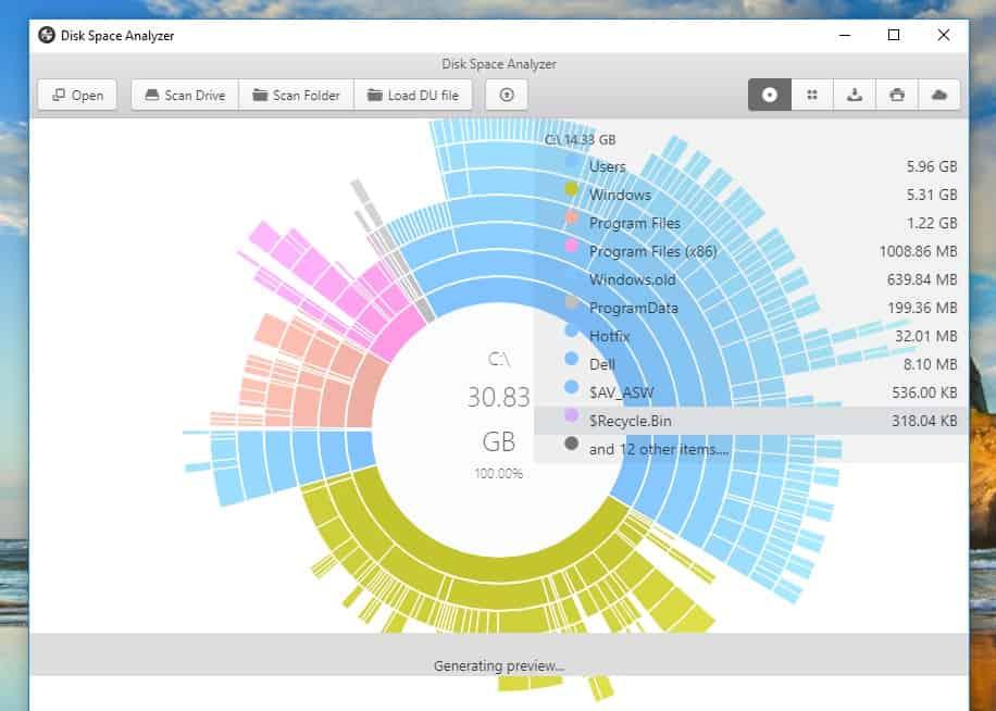 Best Disk Space Analyzer for Windows 10