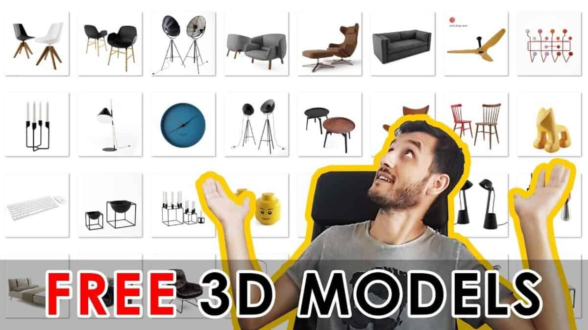 Sites to Download Free 3D Models