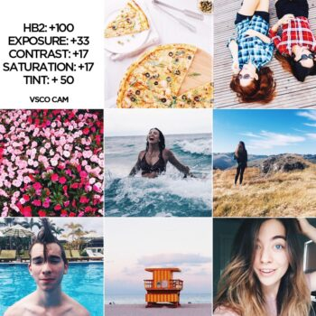 VSCO Cam Filter Settings for Better Instagram Photos