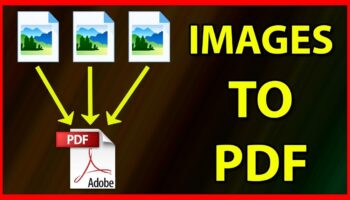 Convert Multiple Images into a PDF File