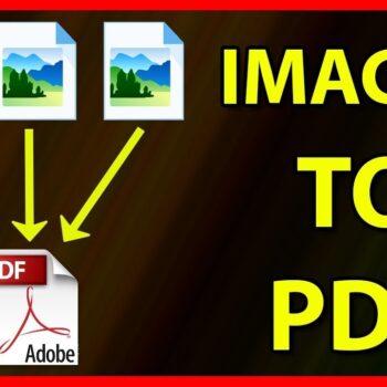 Convert Multiple Images into a PDF File