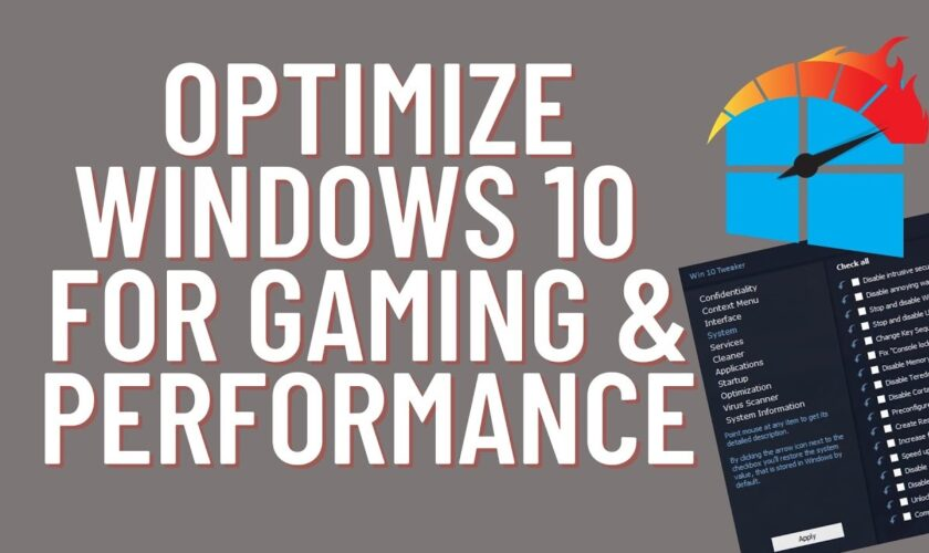 Windows 10 Services To Disable For Performance & Better Gaming