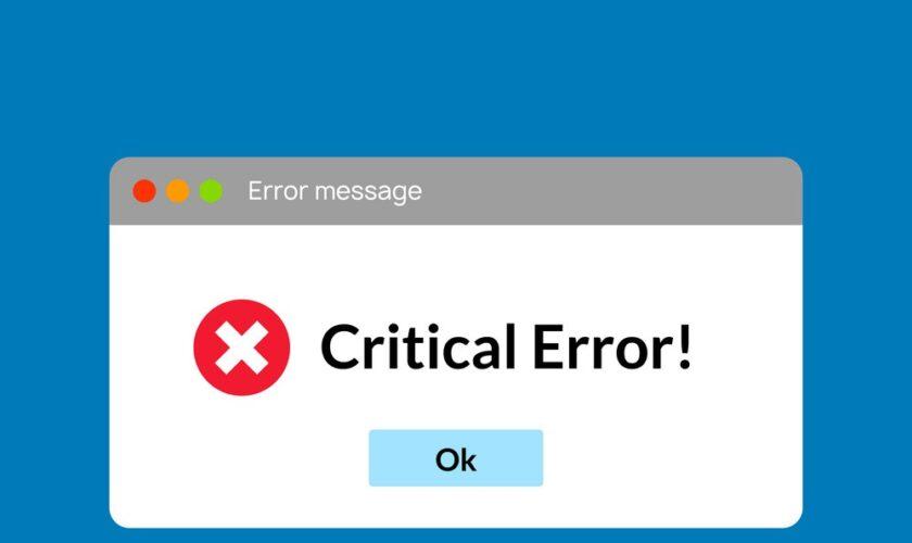 Troubleshooting Error 0X800701B1