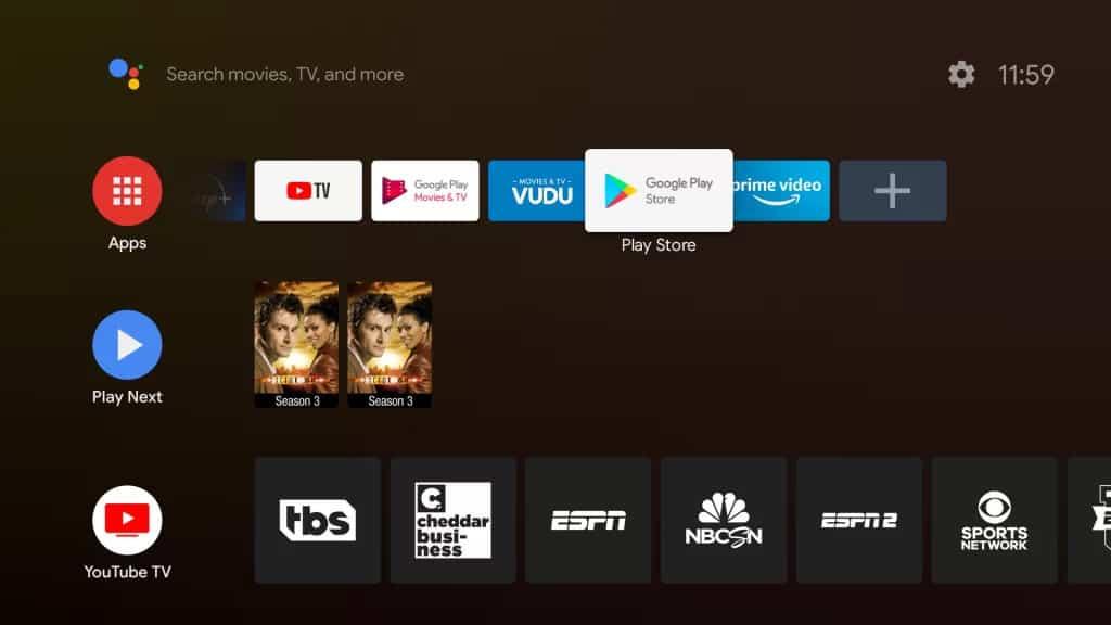 YouTube TV on TiVo Stream 4K